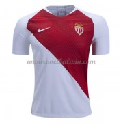 Ligue 1 Voetbalshirts AS Monaco 2018-19 Thuisshirt..